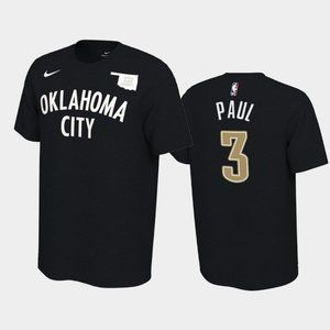 Thunder #3 Chris Paul Earned T-Shirt
